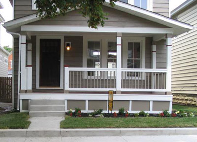 Prefabricated Porches cleveland area masonry/concrete construction & porch contractor